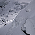 Extreme Skier Going Fast In Beautiful by Patrik Lindqvist