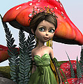 Fairy In Woodland by Design Windmill