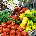 Farmers Market Florence Italy by Irina Sztukowski