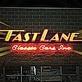 Fast Lane In Lights by Kelly Awad