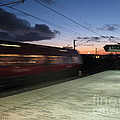 Fast Train by Susanne Baumann