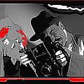 Film Homage Joe Pesci The Public Eye 1992 Weegee Screen Capture Color Added 2011 by David Lee Guss