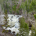 Firehole Falls by Jack R Perry