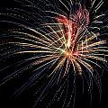Fireworks At St Albans Bay by R B Harper