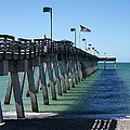 Fishing Pier by Christiane Schulze Art And Photography