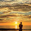 Fishing Silhouette by Aoshi Vn
