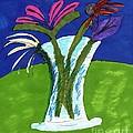 Flowers In A Vase by Elinor Helen Rakowski