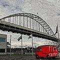 Fremont Bridge by David Bearden