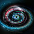 Futuristic Light Eye by Steve Ball