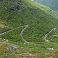 Gaularfjell Panorama by Benjamin Reed