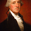 George Washington By Gilbert Stuart -- 2 by Cora Wandel