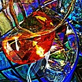 Glass Abstract 691 by Sarah Loft
