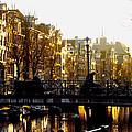 Golden Amsterdam by Silke Brubaker