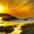Golden Sky by Bruce Nutting
