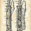 Golf Bag Patent 1905 - Vintage by Stephen Younts