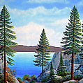 Granite Boulders Lake Tahoe by Frank Wilson