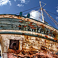 Greek Fishing Boat by Stelios Kleanthous