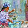 Guatemala Impression Iv by Xueling Zou