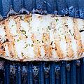 Halibut Fillet On Bbq by Frank Gaertner
