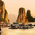 Halong Bay - Vietnam by Luciano Mortula