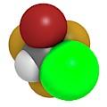 Halothane General Anesthetic Drug by Molekuul