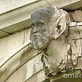 Hampton Court Palace Gargoyle by Deborah Smolinske