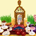 Happy Nowruz by Lois Ivancin Tavaf