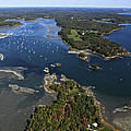 Harraseeket River And South Freeport by Dave Cleaveland
