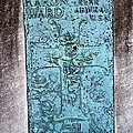 Headstone Abstract by Ed Weidman