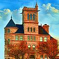 Historic City Hall Springfield  Mo by Debbie Portwood