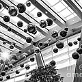 Holiday Glass Ornament Decorations At The Aria Resort And Casino by Jamie Pham
