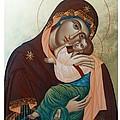 Holy Virgin Of Tenderness by Janeta Todorova