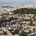 Homes Of San Francisco by B Christopher