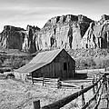 Horse Barn In Fruita Utah by Jack Schultz