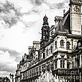 Hotel De Ville In Paris by Elena Elisseeva