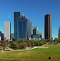 Houston, Texas - High Rise Buildings by Panoramic Images
