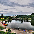 Hoyt Lake Delaware Park 0004 by Michael Frank Jr