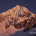 Mt Huandoy Sunrise Peru by James Brunker
