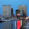 Inner Harbor by Bill Cobb