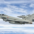 Italian Air Force F-2000 Typhoon by Giovanni Colla