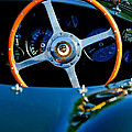Jaguar Steering Wheel by Jill Reger