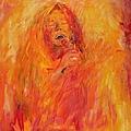 Janis Joplin On Fire by Judy Joy Jones