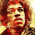 Jimi Hendrix by J  - O   N    E