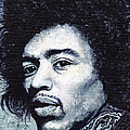 Jimi Hendrix by Tom Roderick