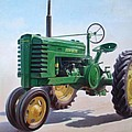 John Deere Tractor by Hans Droog