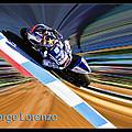 Jorge Lorenzo by Blake Richards