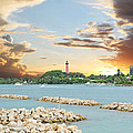 Jupiter Lighthouse by Kristy Smith