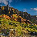 Kalalau Valley by Ian Stotesbury