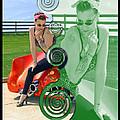 Kandi Blaze Poster 3 by Brian Graybill