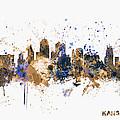 Kansas City Skyline by Michael Tompsett